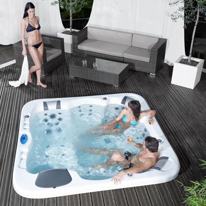 Vasche idromassaggio per interno ed esterno installazione e manutenzione bauen milano - Piscine da interno ...
